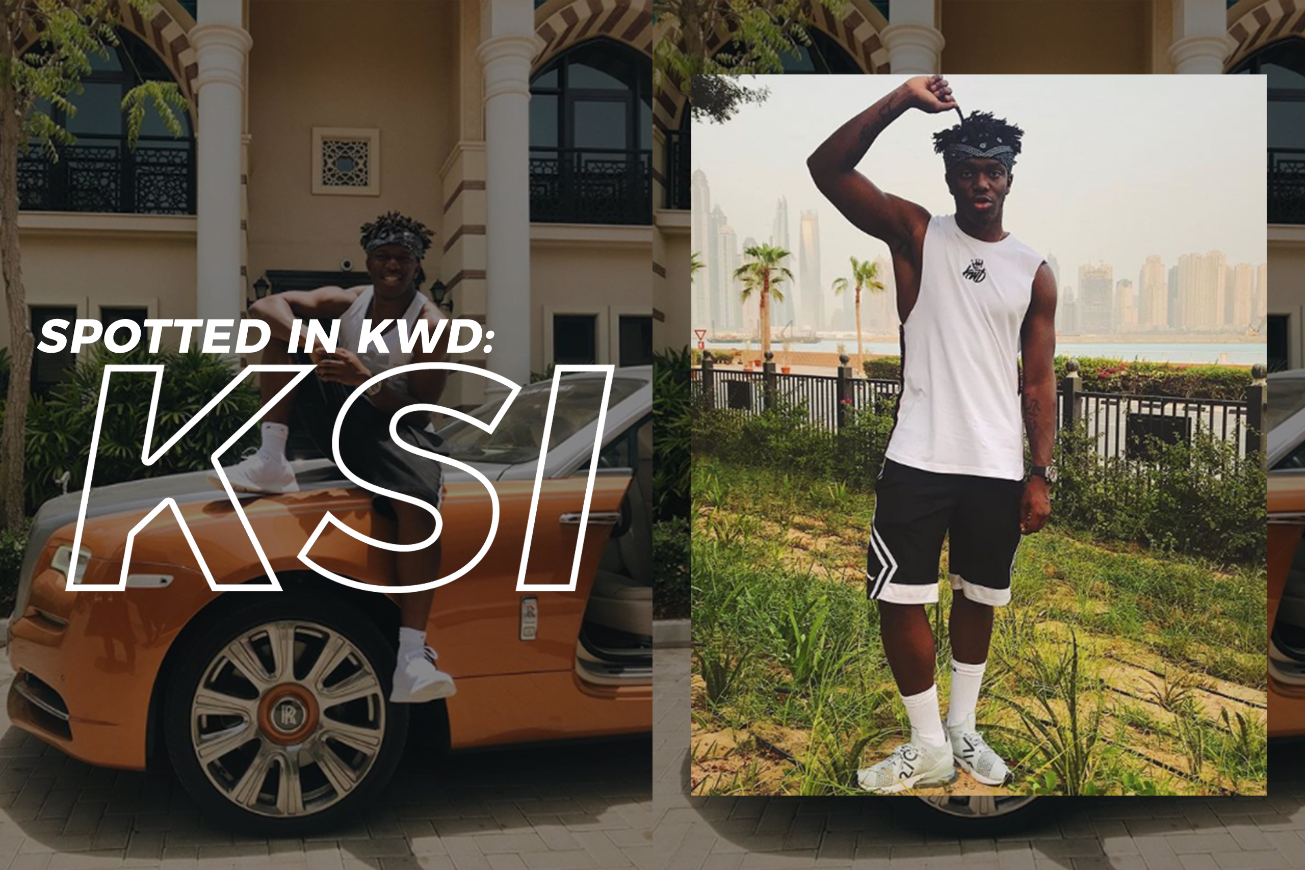 Spotted in KWD: KSI