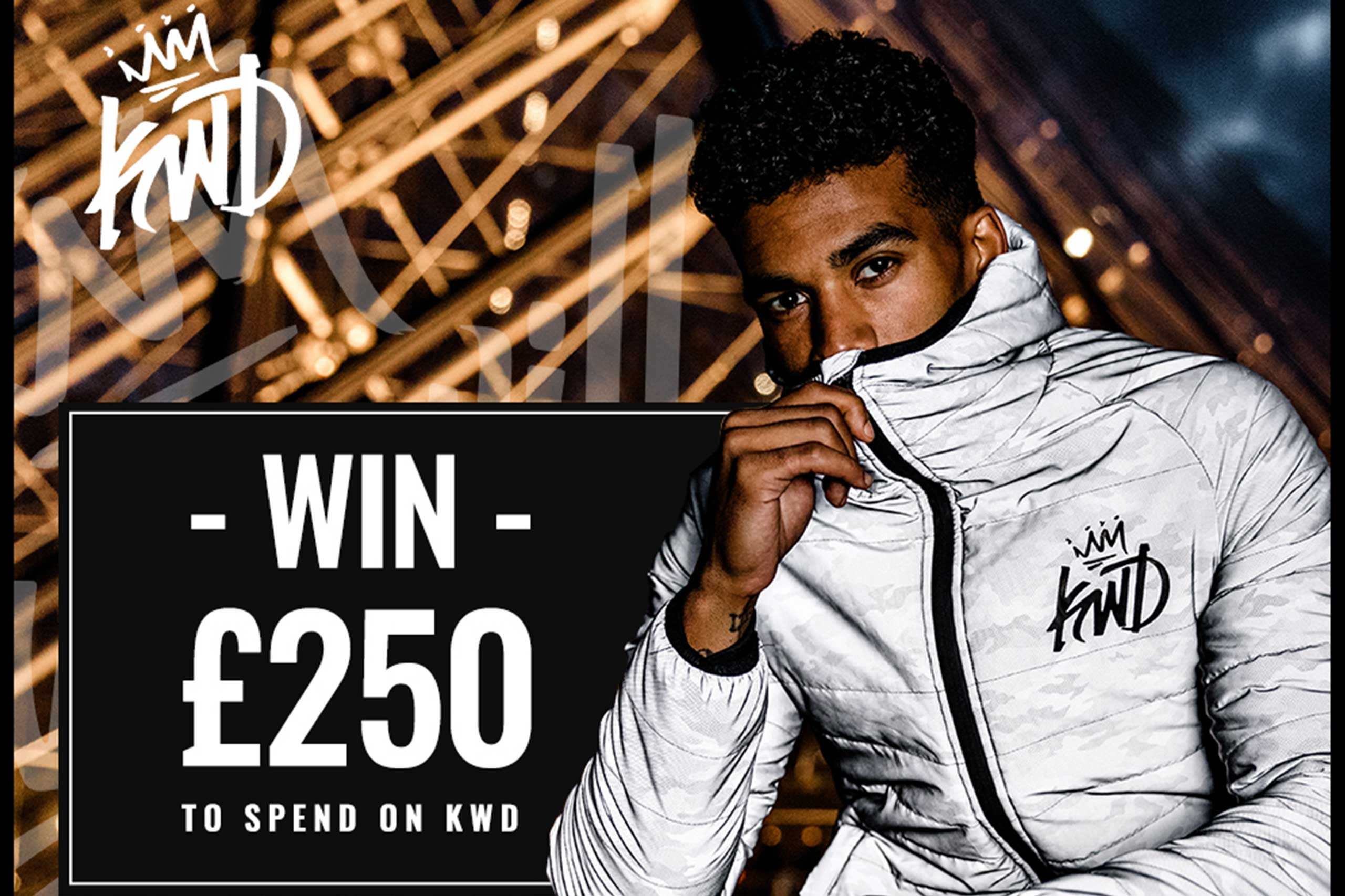Want to win £250 to spend on KWD?