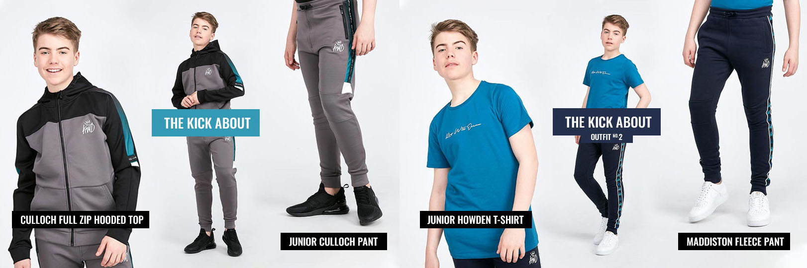 Kings Will Dream Junior Telford Shorts Teal Fade