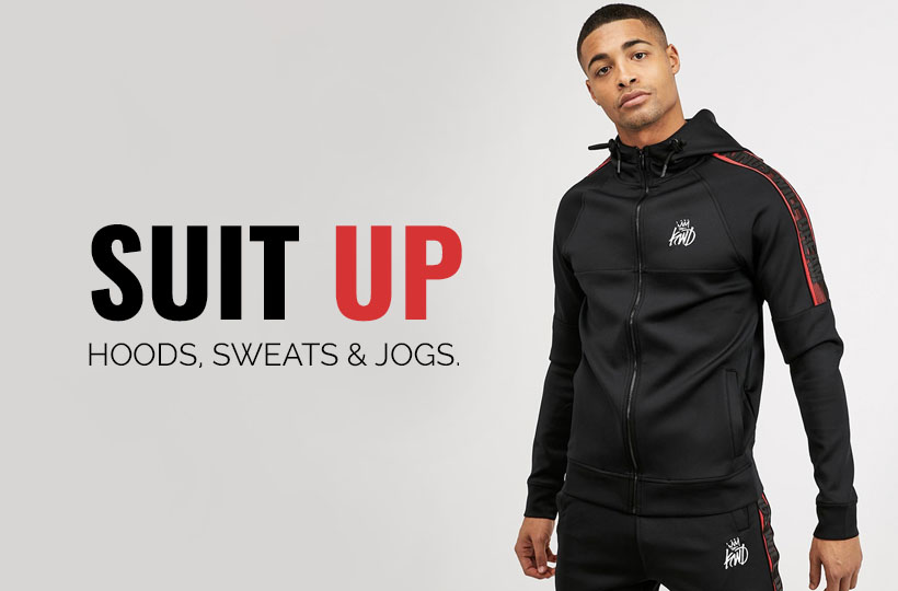 Suit Up: Hoodies, Joggers and Sweatshirts