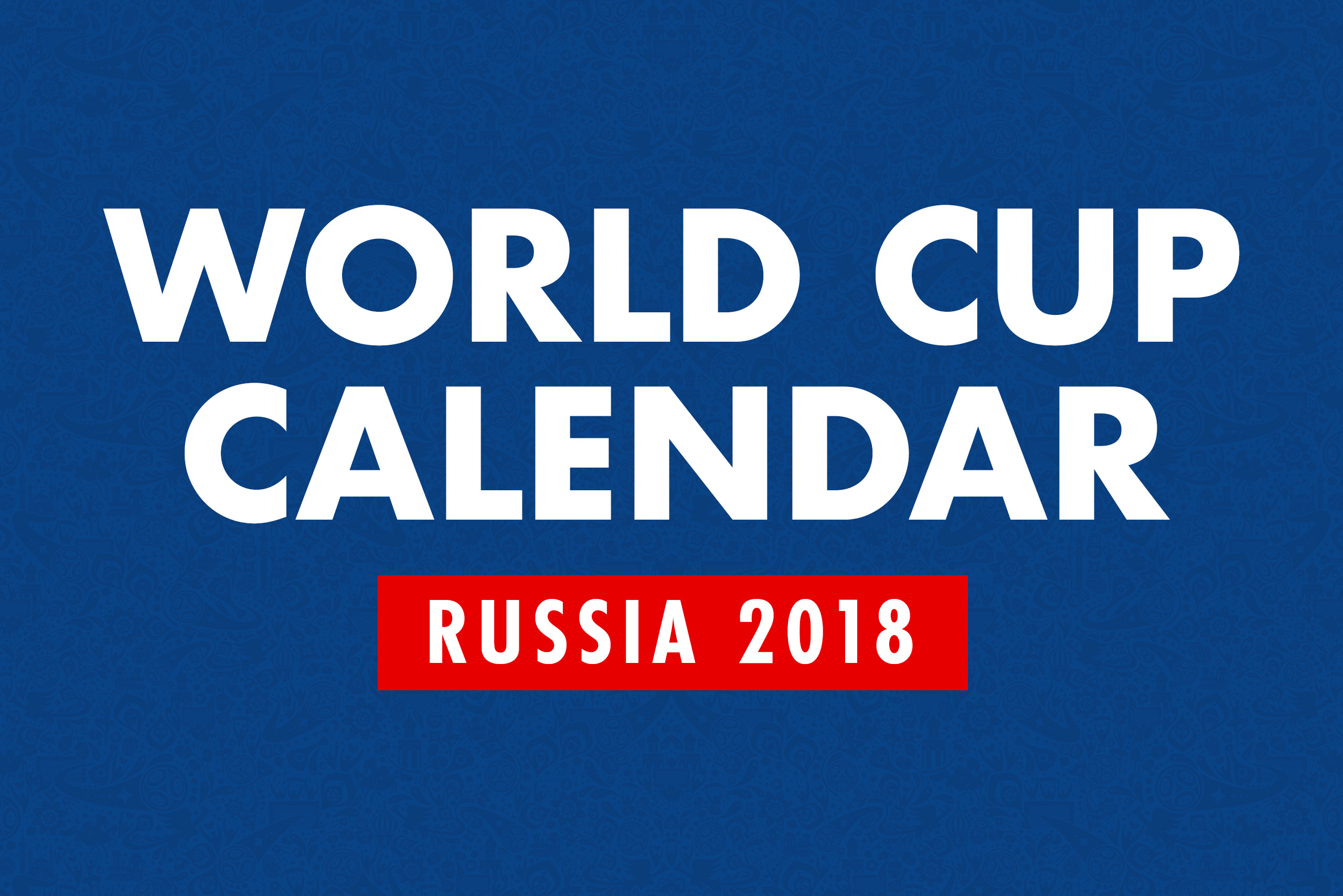 KWD World Cup Calendar