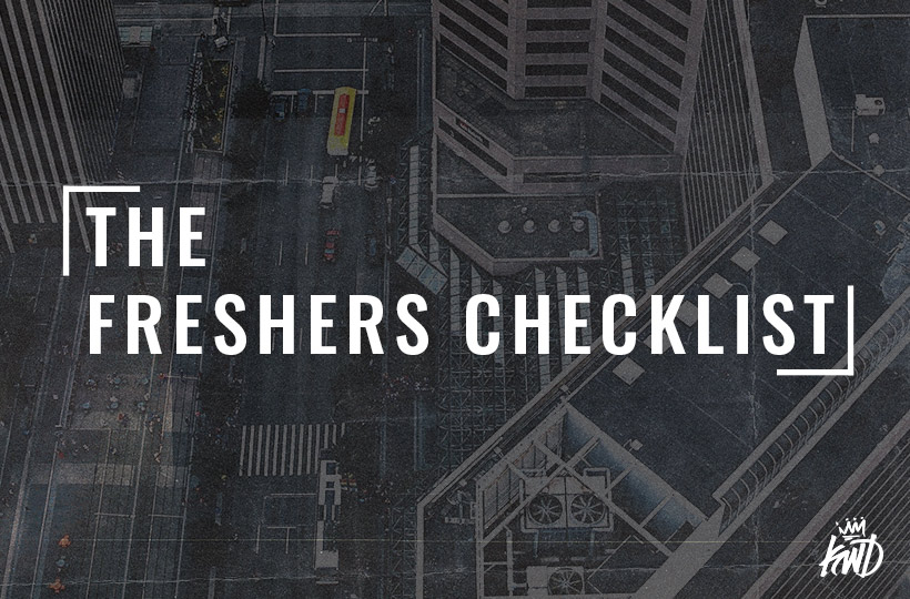 The Freshers Checklist