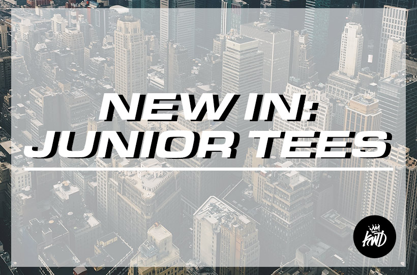 New In: Junior Tees