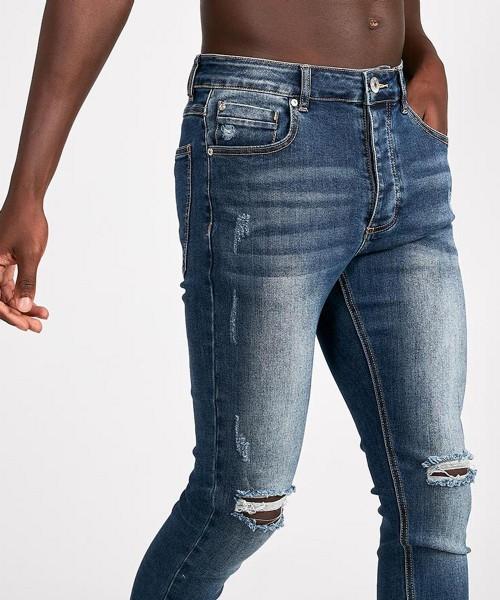 Lumor Skinny JeansMid Wash Kwd Distressed NnZ8O0wPXk