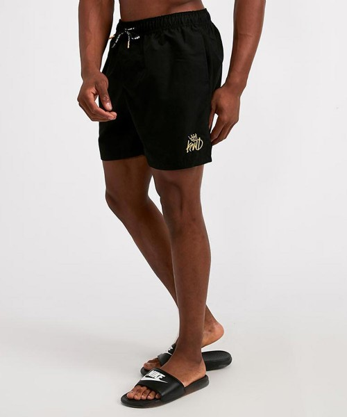 Stantling Lurex Logo Swim Short
