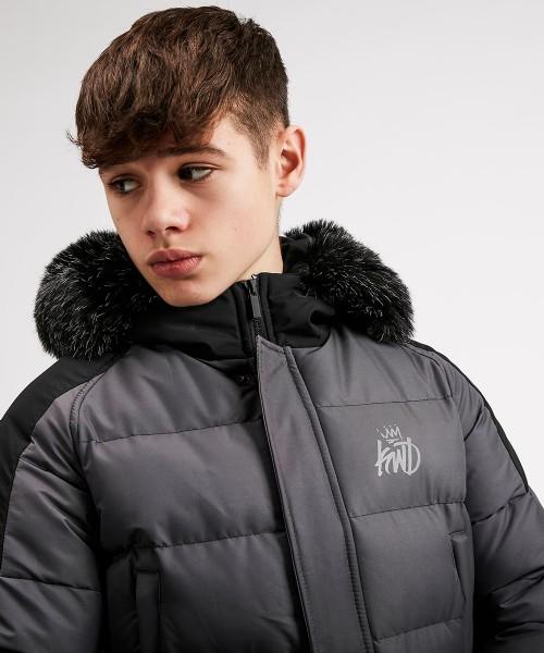 Kings Will Dream Junior Branton Padded Coat Jacket Black