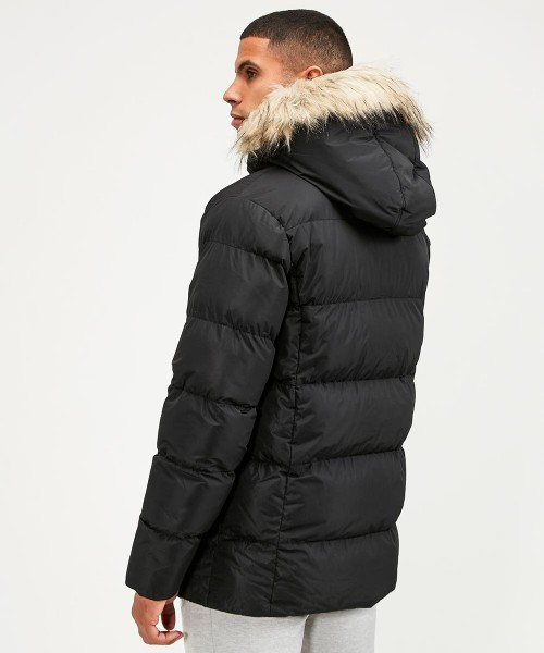 Trayor Fur Puffer Parka Jacket