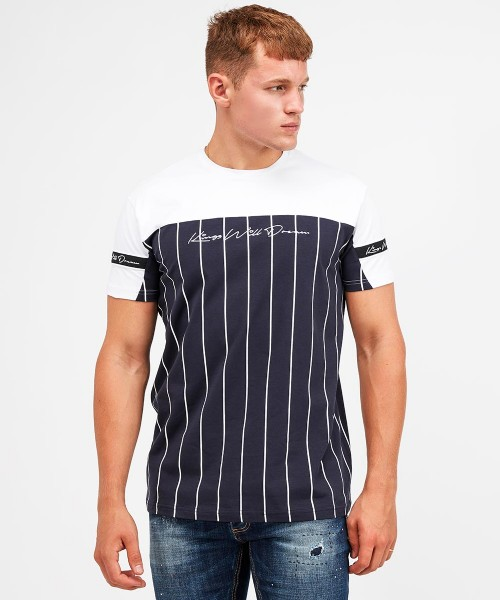 Mens Kings Will Dream Short Sleeve Casual Cotton T Shirts Sizes from S to XXL