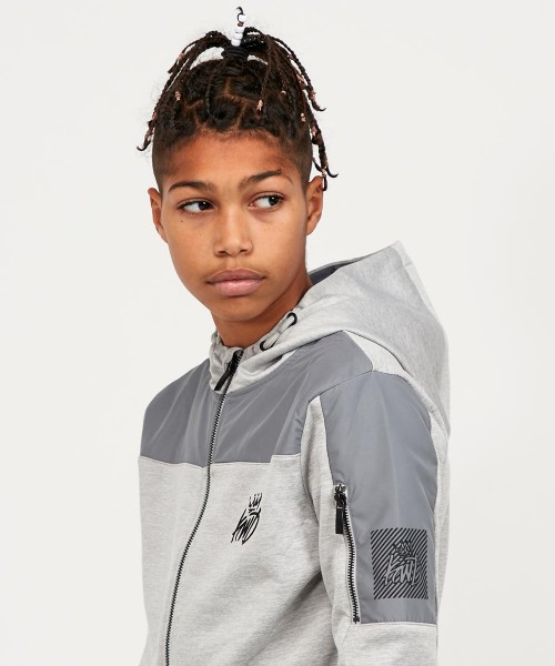 Junior Frovell Full Zip Poly Hoodie