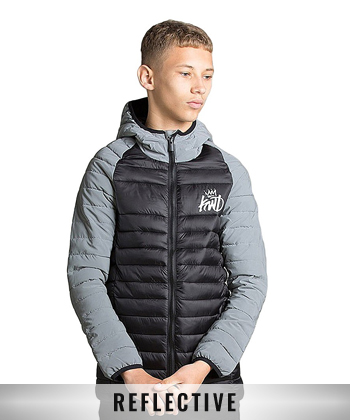 Junior Tone Puffer Jacket