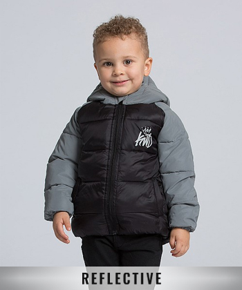 Nursery Caley Reflective Puffer Jacket