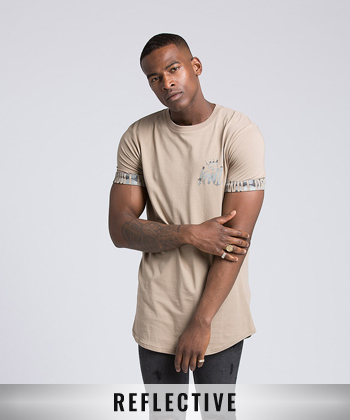Biscoe Reflective Sleeve T-Shirt