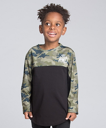 Nursery Jaden Camo Long Sleeve T-Shirt