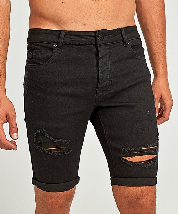 Lumor Skinny Distressed Short