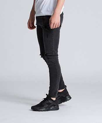 Junior Romer Ripped Skinny Denim Jean