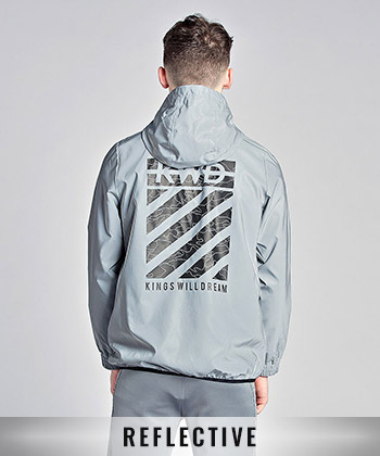 Chevron Windrunner Jacket
