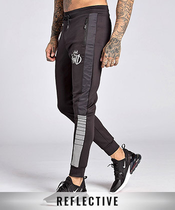 Kommack Perforated Reflective Tape Pant