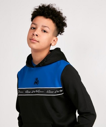 Junior Heeley Tape Panel Hooded Top