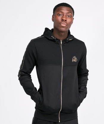 Crawton Full Zip Hooded Top