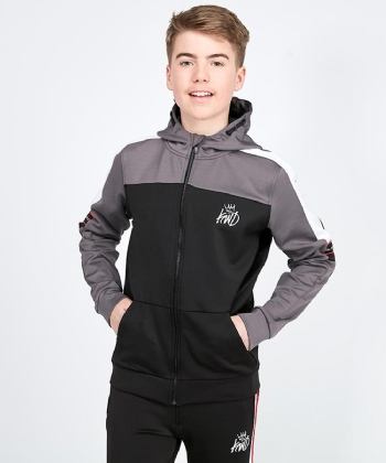 Junior Culloch Full Zip Hooded Top