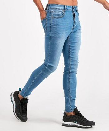 Carlton Cropped Distressed Denim Jean