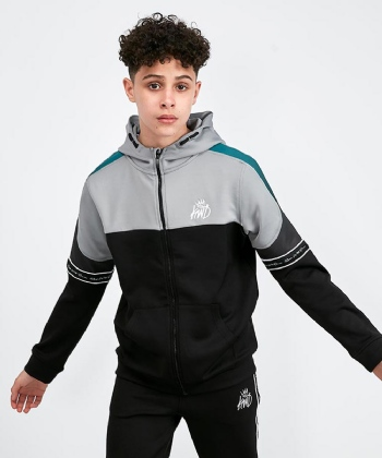 Junior Skene Full Zip Hooded Top