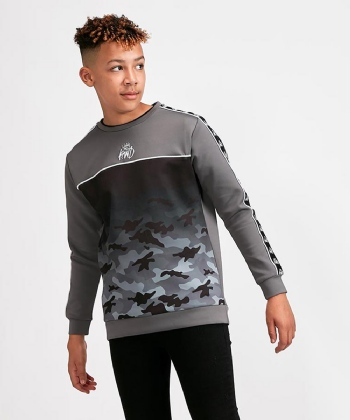 Junior Camwick Camo Fade Sweatshirt