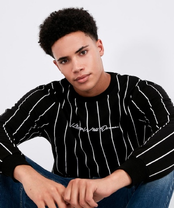 Clifton Pinstripe Sweatshirt
