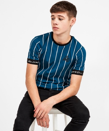 Junior Jifton Pinstripe T-Shirt