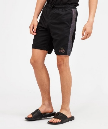Delnies Script Tape Swim Short