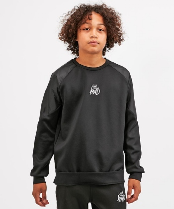 Junior Yedd Nylon Shoulder Sweatshirt